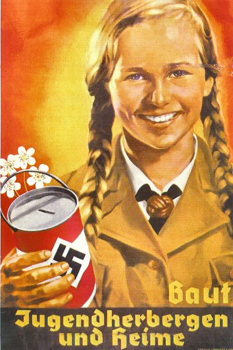 Vintage Hitler Youth Poster
