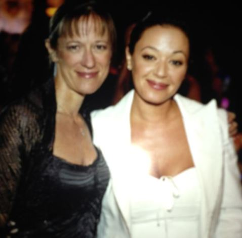 Shelly Miscavige and Leah Remini photographed at the Hollywood Celebrity Centre gala, circa 2005